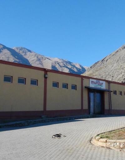 Tunceli'nin tek fabrikası kapandı