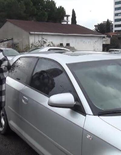 """Arabada cam filmine """"kadın sürücüye taciz var"""" savunması"""