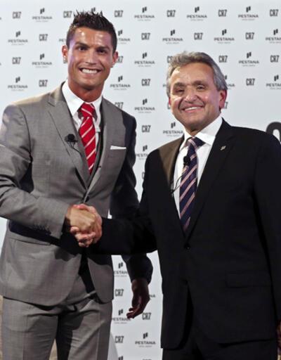 Cristiano Ronaldo otelcilik sektörüne girdi