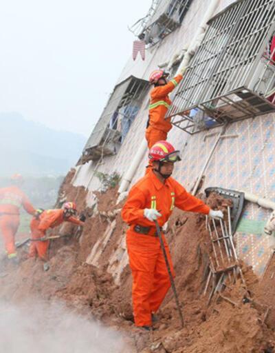 Çin'de heyelan: Onlarca bina çöktü, onlarca kişi kayıp