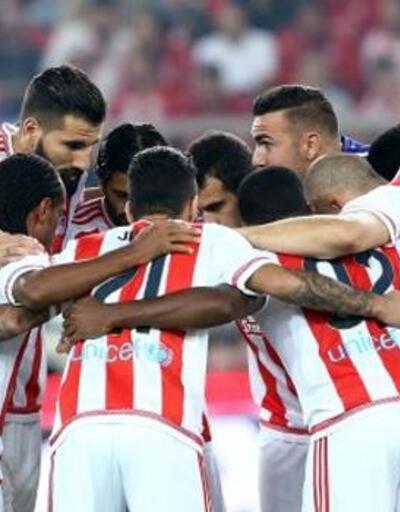 Olympiakos'un süper serisi sona erdi