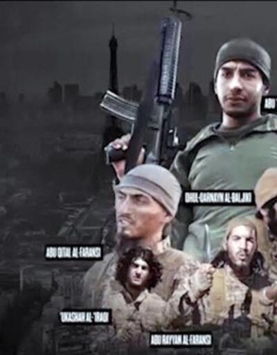 IŞİD Paris saldırganlarının videosunu yayınladı