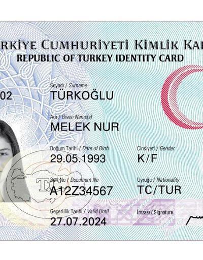 İşte yeni kimlik kartı...