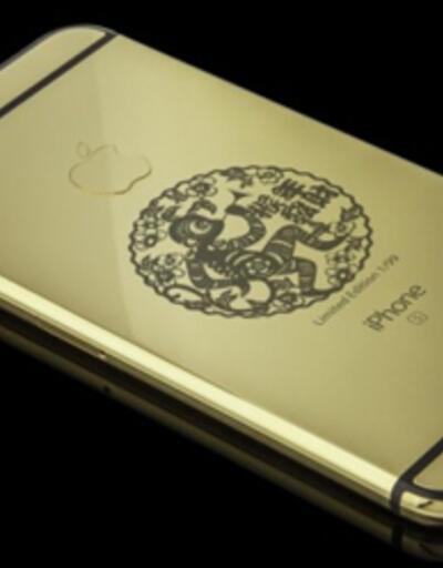 Altın kaplama iPhone 6s