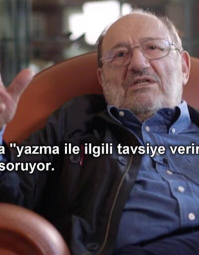 Umberto Eco'nun yaşamından kesitler...