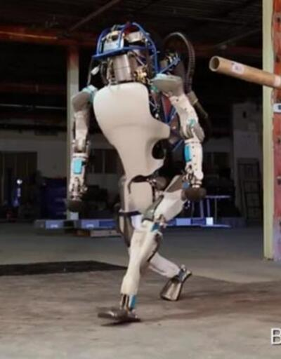 Atlas robota yapılan zulüm tepki çekti