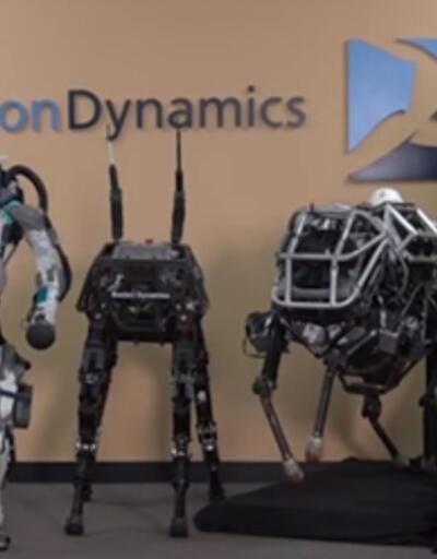 Atlas isimli yeni insansı robot