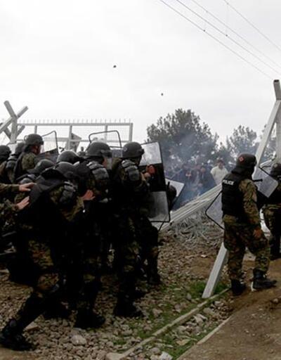 Yunanistan- Makedonya sınırında gerilim yaşandı