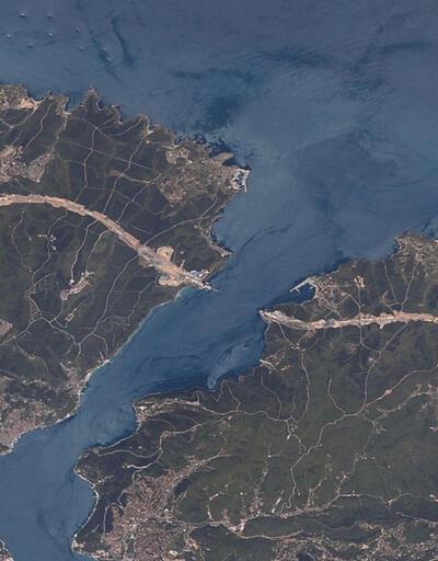 Uzaydan adım adım 3'üncü köprü