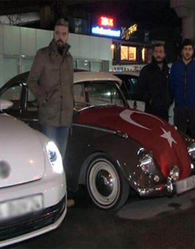 İstanbul'da teröre tepki konvoyu