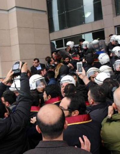 İstanbul'da avukatlara müdahale