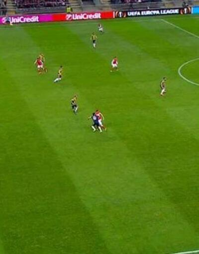Fenerbahçe'nin isyan ettiği pozisyon