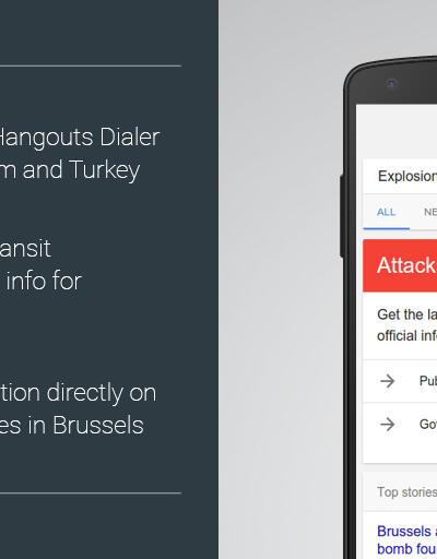 Google'dan sadece Türkiye ve Belçika'ya özel hizmet