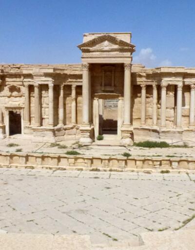 Palmira mayın tarlasına dönmüş