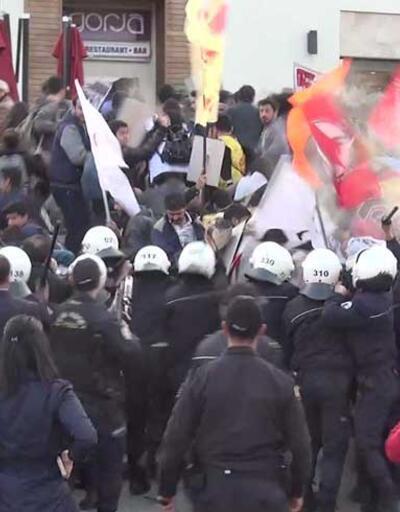 Kızıldere protestosuna polis müdahalesi: 13 gözaltı