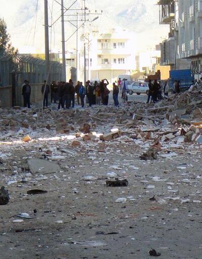 Kızıltepe'deki korkunç saldırıdan kareler