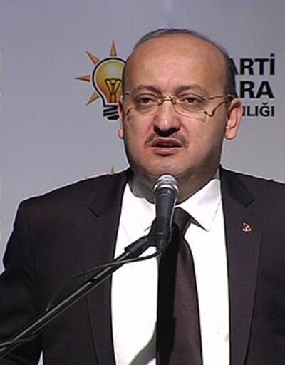 """Yalçın Akdoğan: """"Halk terörle mücadelede devletin yanında"""""""