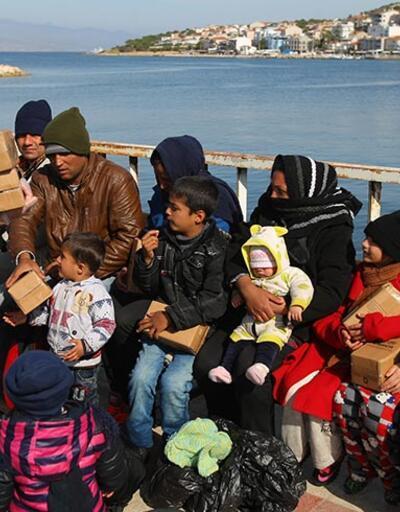 Ege'de yakalanan göçmen sayısı 3 ilin nüfusundan fazla