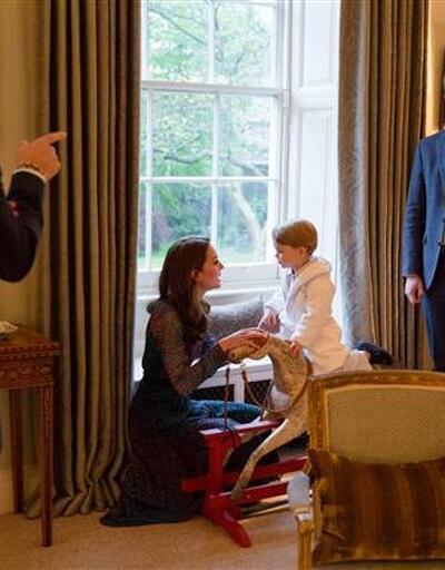 Prens George Obama'yı böyle karşıladı