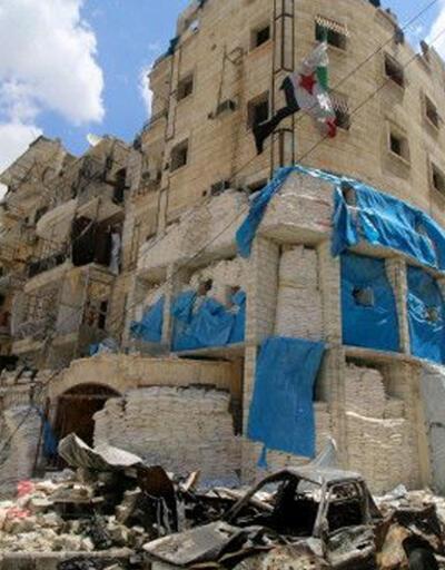 Halep'te 3 klinik vuruldu