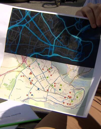 Tarihi yarımadaya bisiklet yolu ağı