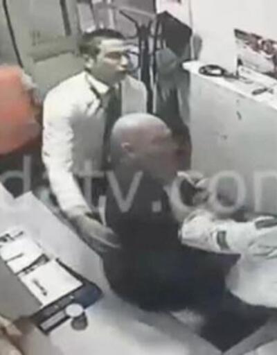 Eski bakan  Erdoğan Bayraktar güvenlik görevlisini dövdü