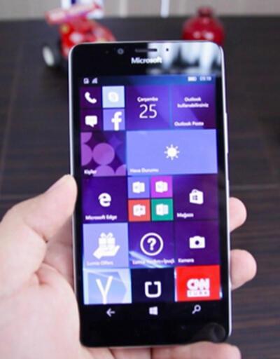 Microsoft Lumia 950 inceleme videosu