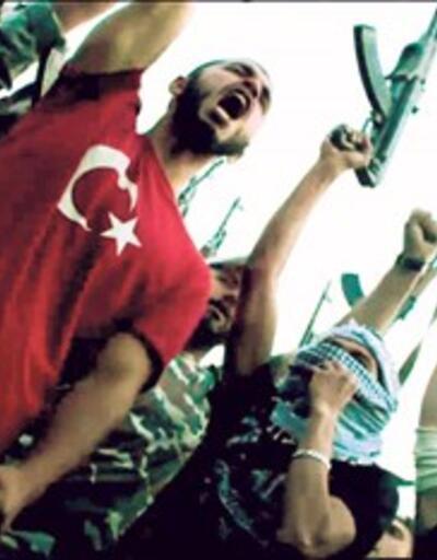 Bingazi filminde teröriste Türk bayrağı giydirildi