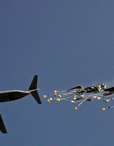 ABD Mare'de Suriyeli muhaliflere havadan silah yardımı yaptı