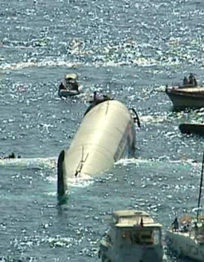 Airbus A300 Kuşadası'nda denize batırıldı