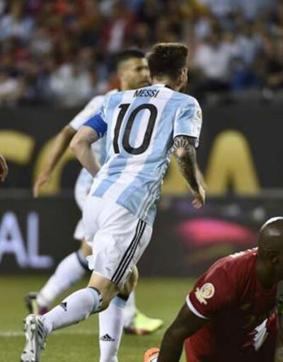 Messi'den 29 dakikalık şov... Copa America: Arjantin - Panama: 5-0