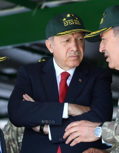 Asker Bakanlar Kurulu'nda tek tek anlattı