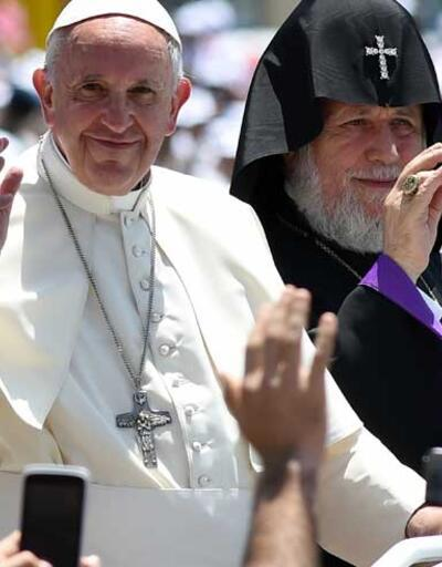 Papa'dan Ermenistan'da Türkiye duası