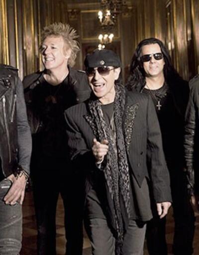 Scorpions İstanbul'da konser verdi