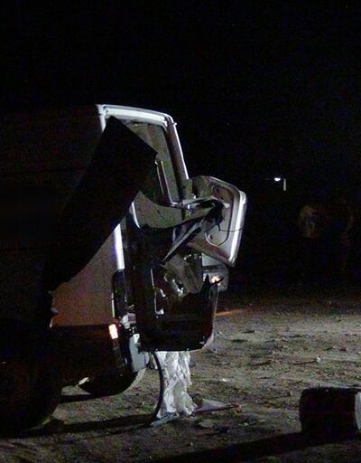Bombalı araç olduğu düşünülen çalıntı minibüs bulundu