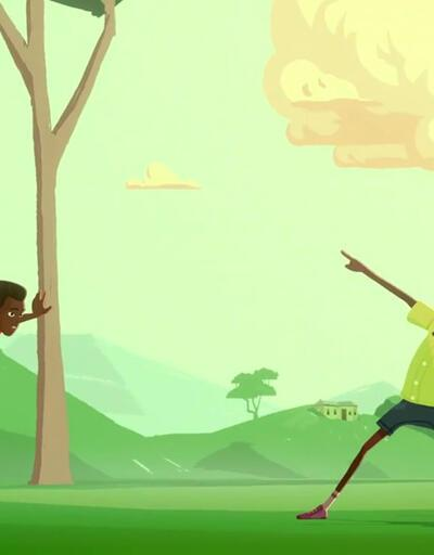 Usain Bolt'un hayatı çizgi filme uyarlandı
