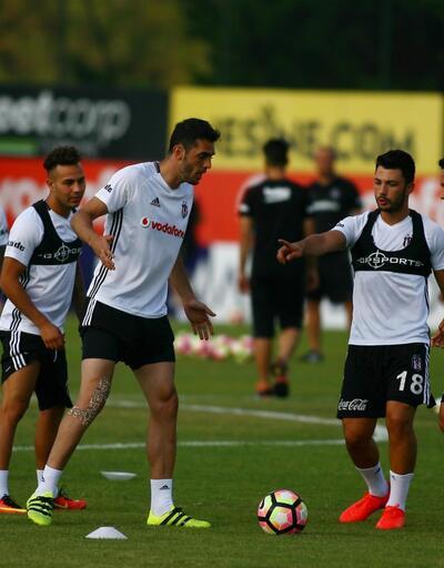 Beşiktaş'ta Sosa antrenmana katıldı