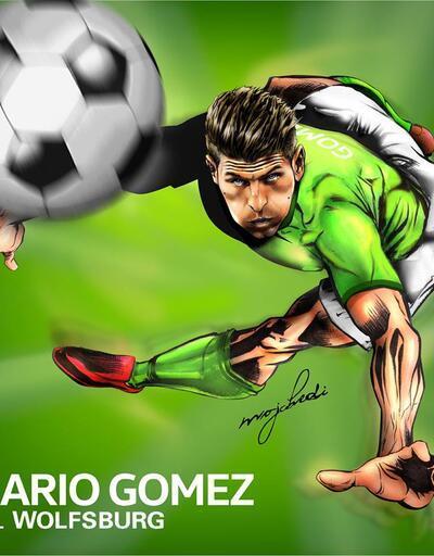 'Beşiktaş formasını özledim' diyen Mario Gomez sosyal medyayı salladı