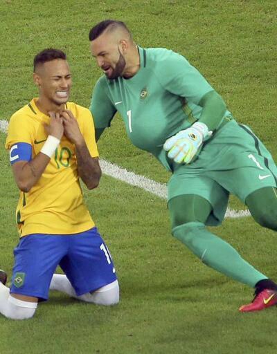 Neymar gözyaşlarını tutamadı