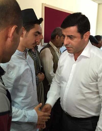Selahattin Demirtaş'tan Gaziantep'e taziye ziyareti