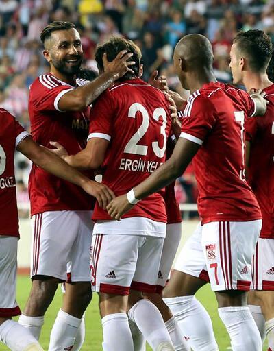 Sivasspor'dan gol yağmuru: 6-0