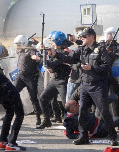 '10 Ekim' eylemlerinde, 74 kişi gözaltına alındı