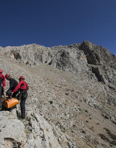 Kaçkarlar'da feci kaza! İpi koparak düşen dağcı hayatını kaybetti