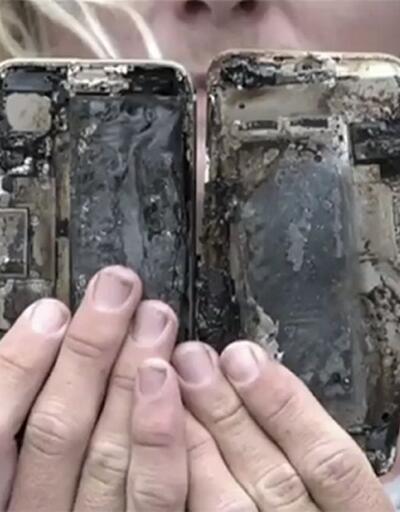 iPhone 7'ler de yanmaya başladı