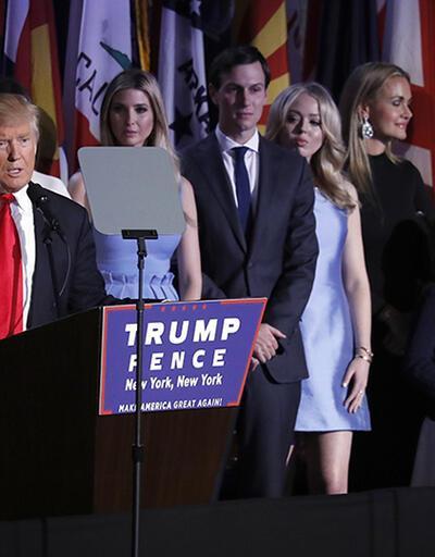 Donald Trump'ın geniş ailesi