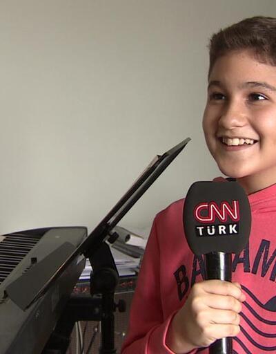 Dünya 12 yaşındaki Türk piyanisti dinliyor