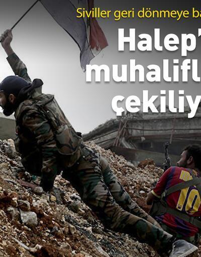 Halep'te rejim güçleri hakimiyet sağlıyor