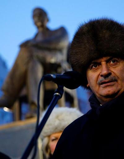 Başbakan Tataristan'da Sadri Maksudi Anıtı'nı açtı