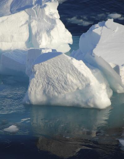 Antarktika'da eriyen buzullar küresel su seviyesini artırıyor