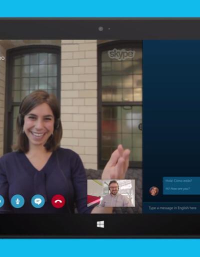 Skype Translator mobil ve sabit hat desteğine kavuştu!